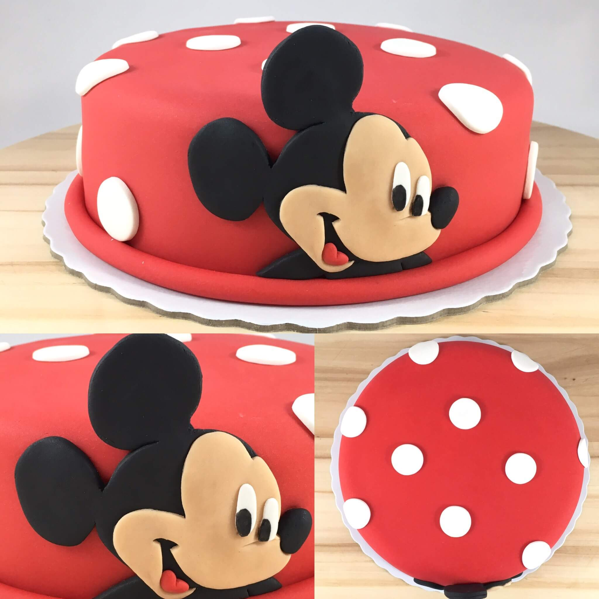 Bolo Com A Cara Do Mickey Mouse Bolo Simples E T 227 O Querido